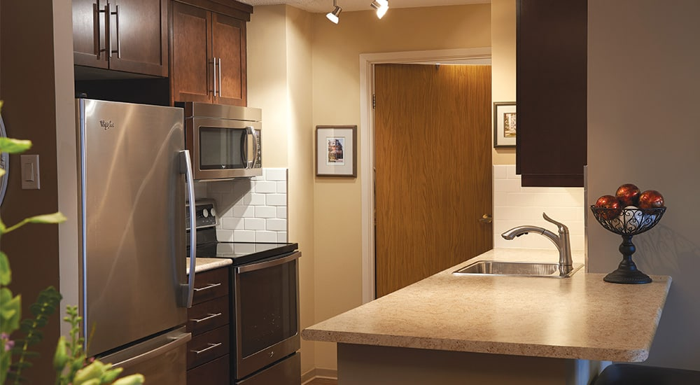 55+ Living downtown – Customize your living space